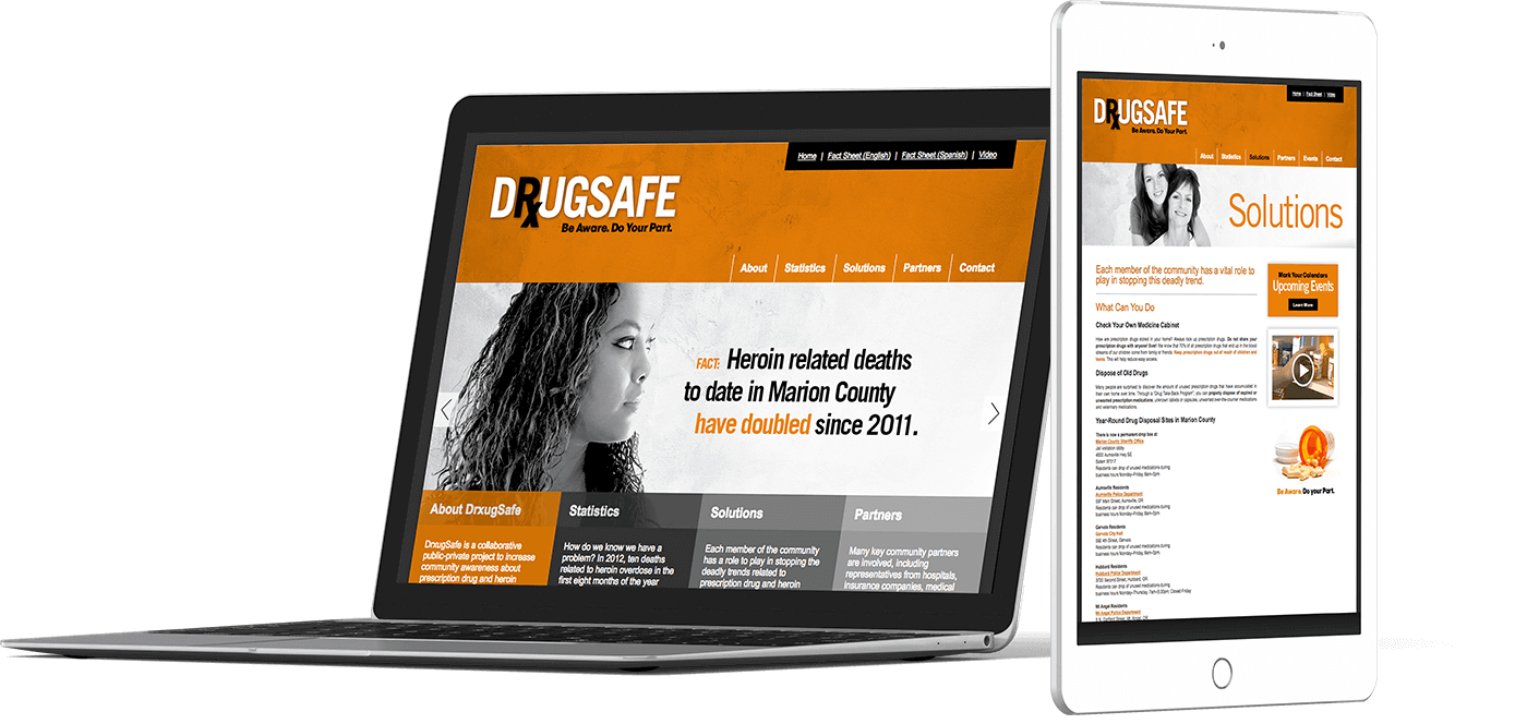 Web Design In House Graphics Salem Oregon - Drugsafe