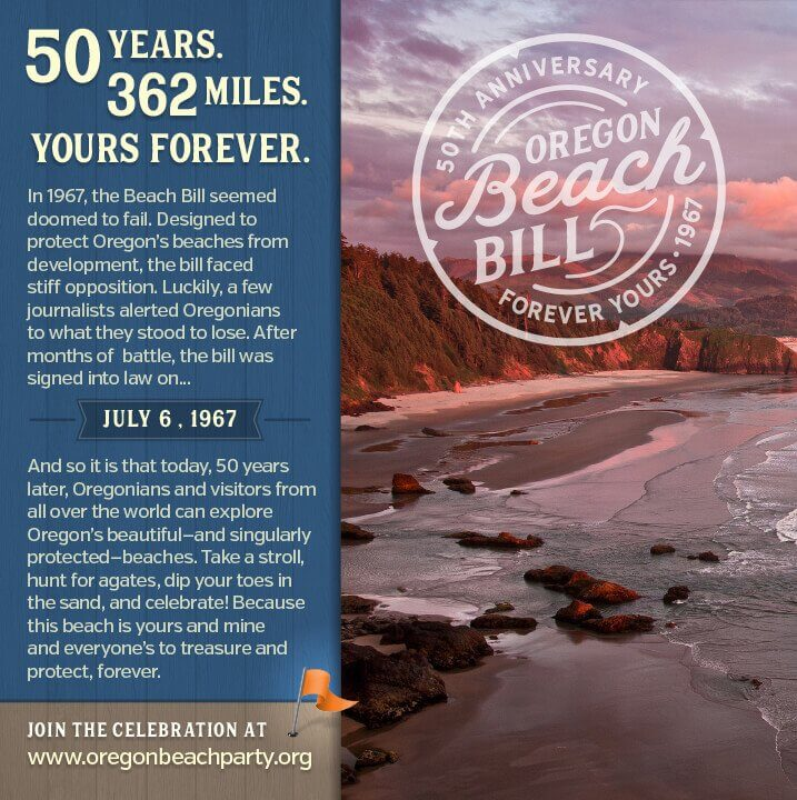 Ad Design In House Graphics Salem Oregon Beach Bill