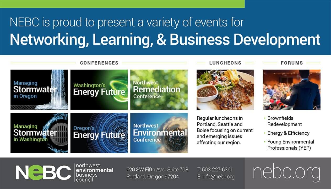 Ad Design In House Graphics Salem Oregon Northwest Environmental Business Council