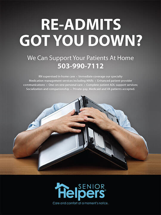 Ad Design In House Graphics Salem Oregon - Senior Helpers