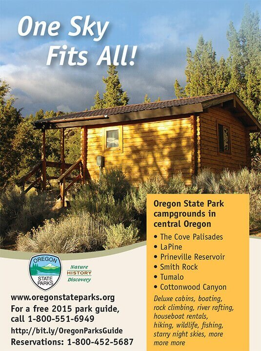 Ad Design In House Graphics Salem Oregon - Oregon State Parks