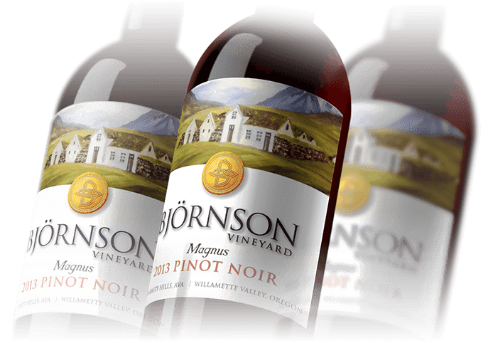 In House Graphics Salem Oregon - Packaging Bjornson Wine